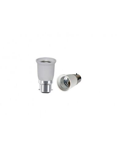 B22 to E27 Light Bulb Adapter