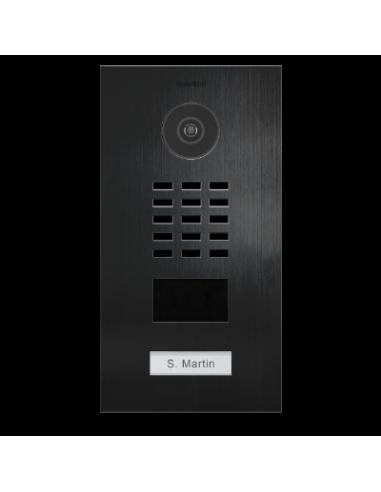 DoorBird D2101V V4A Titanium brushed Intercom